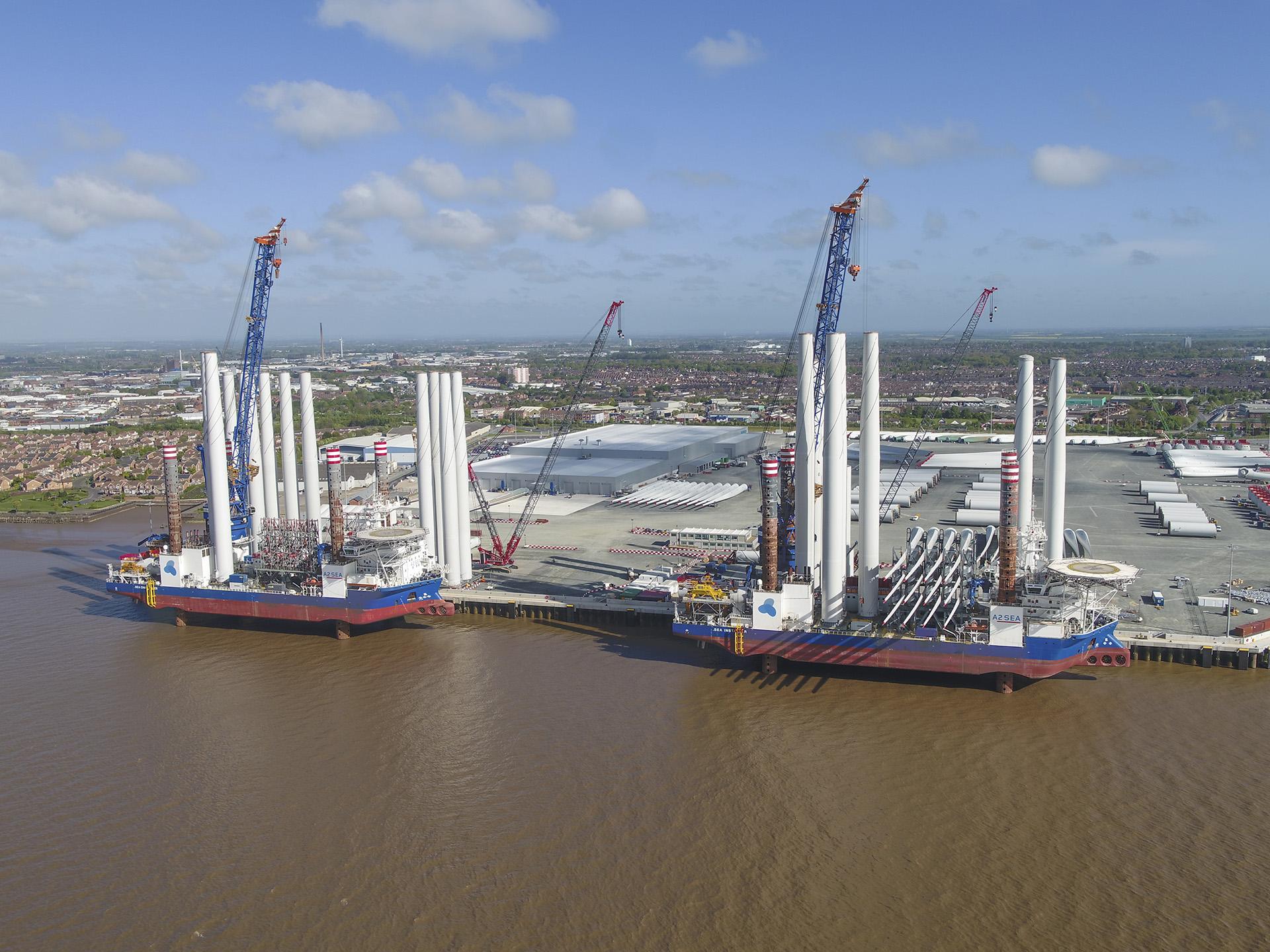 Siemens Gamesa Renewable Energy Blade Factory in Hull
