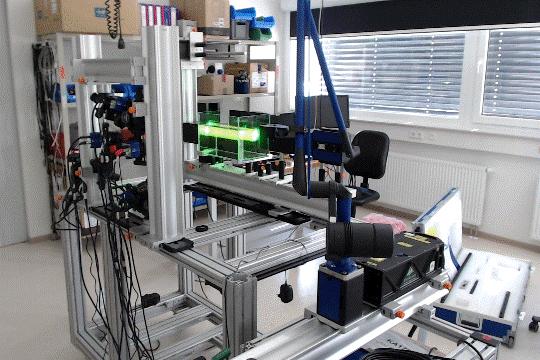 LaVision experimental equipment